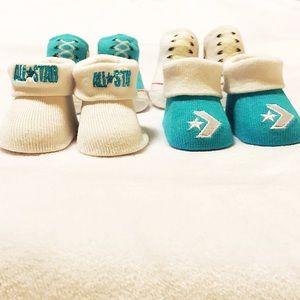 e5531da440c7 Converse Shoes - Converse Infant Booties Set (0-6 Months)